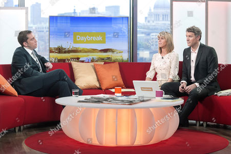 Steve Parry with Kate Garraway and Dan Lobb
