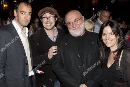Stock Picture of Alistair McGowan, Bob Golding, Alexei Sayle and Lise Mayer