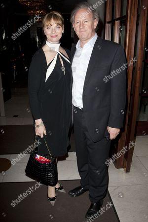 Elizabeth Morton and Peter Davison