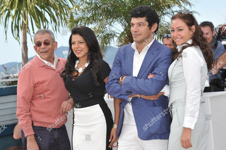 Director Yousry Nasrallah, Nahed El Sebai, Bassem Samra, Menna Shalaby