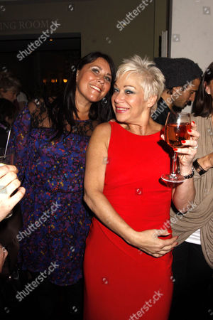 Zoe Tyler and Denise Welch