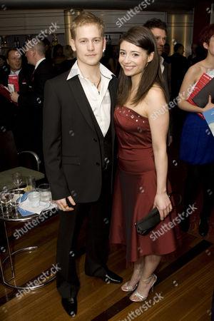 Gavin Stenhouse and Sofia Escobar
