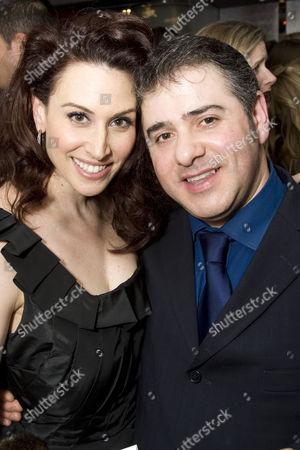Lesli Margherita and Nick Cavaliere