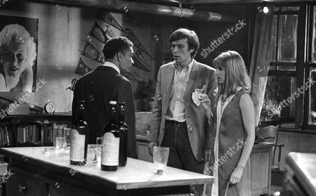 Earl Cameron as Matthew Ramsay, Peter Egan as Peter Morris and Tandy Cronyn as Janet Goss