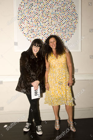Stock Picture of Anna Richardson, Jo Manuel and Hirst print that raised the most for single item at 11K