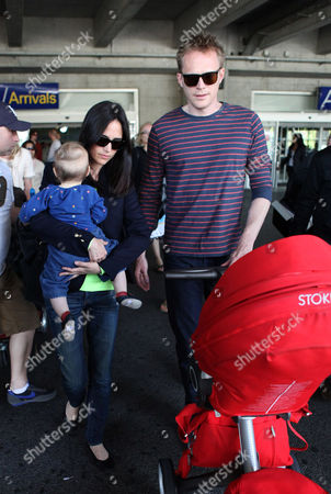 Editorial photo of Celebrities arriving for the Cannes Film Festival at Nice Airport, France - 17 May 2012