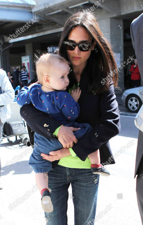 Jennifer Connelly with daughter Agnes Lark Bettany