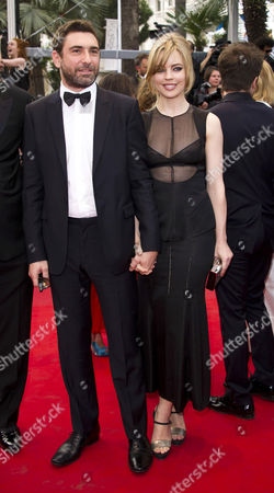 Jean-David Blanc and  Melissa George