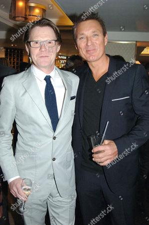 Robert Elms and Martin Kemp
