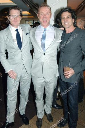 Robert Elms, Gary Kemp and Stephen Webster