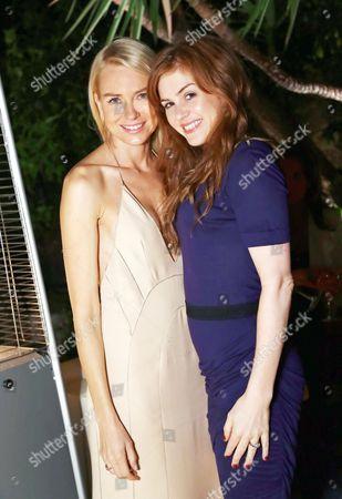 Naomi Watts and Isla Fisher