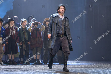 'Oliver!' Musical at the Theatre Royal, Drury Lane, London - Steven Hartley (Bill Sykes)
