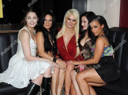 Arden Leigh, Alundra B, Faith Ford, Jade Vixen and Lena D