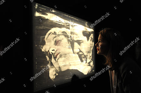Andy Warhol:The Kiss. Estimated sale value GBP 700,000-900,000