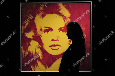 Andy Warhol: Brigitte Bardot. Estimated sale value 3,000,000-4,000-000