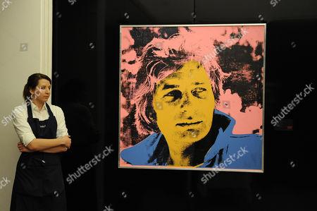 Andy Warhol: Portrait of Gunter Sachs. Estimated sale value GBP 400,000-600,000