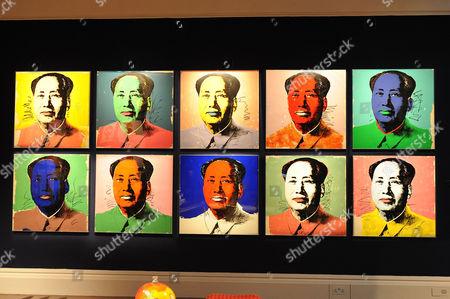 Andy Warhol:Mao.Estimated sale value GBP 300,000-500,000