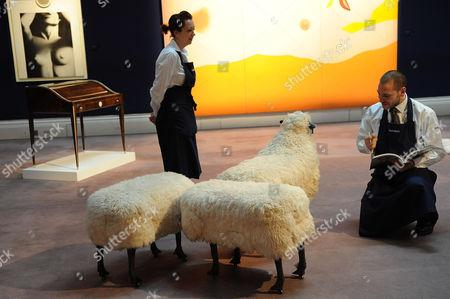 Francois-Xavier Lalanne: Moutons De Laine. Estimated sale value GBP 250,000-350,000