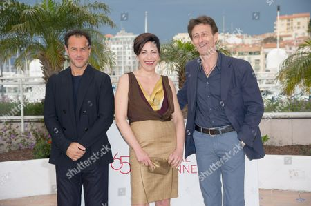 Director Matteo Garrone, Loredana Simioli and Nando Paone