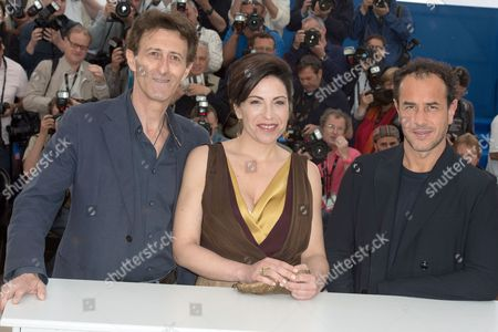 Matteo Garrone, Loredana Simioli and Director Nando Paone