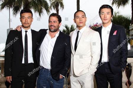 Liao Fan, Brett Ratner, Kwone Sang-woo and Steve Yoo