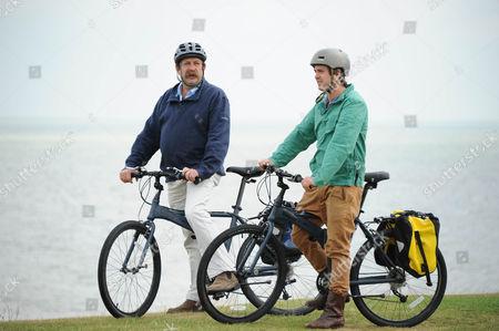 Dick Strawbridge and his son James