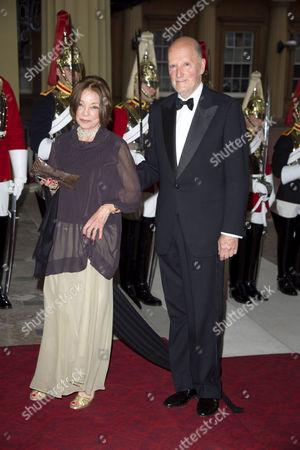 Queen Margarita and King Simeon II of Bulgaria