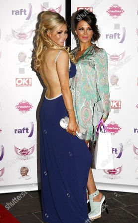 Stock Picture of Nicola McLean and Natasha Giggs