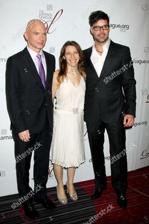 Michael Cerveris, Elena Roger and Ricky Martin