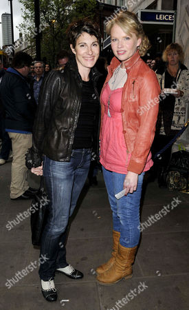 Tamsin Greig and Sara Crowe