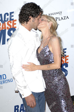 Stock Image of Camille Grammer and Dimitri Charalambopoulos