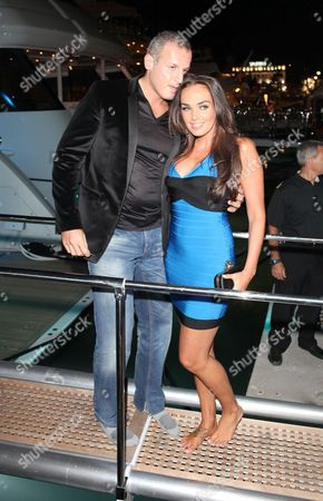 Omar Khyami and Tamara Ecclestone