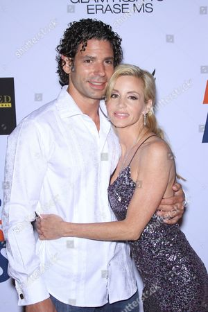 Camille Grammer and boyfriend Dimitri Charalambopoulos