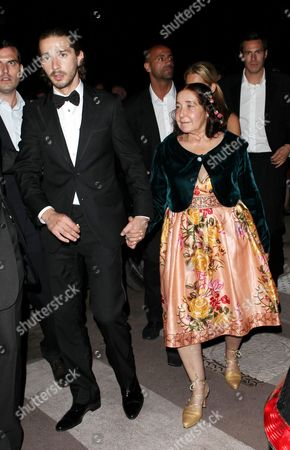 Shia LaBeouf and his mother Shayna Saide