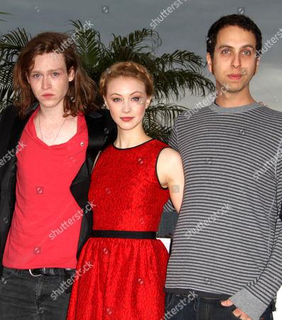 Caleb Landry Jones, Sarah Gadon and Brandon Cronenberg