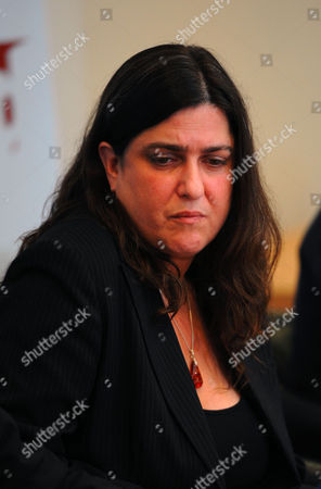 London. A Press Conference Is Held After The Verdict Into The 7/7 Inquest Is Released Today. Image Shows Esther Hyman Who's Sister Miriam Was Killed On The Number 30 Bus. 06/05/11