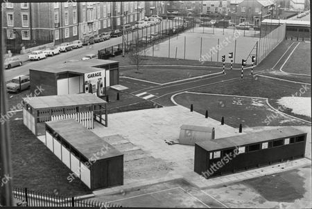 'toy Town' North London - A Children's Playground Built By Camden Council At The Site Of The Cumberland Market Adjacent To The Regents Park Estate. It Is A Miniature Community With Houses Shops And A Traffic System.