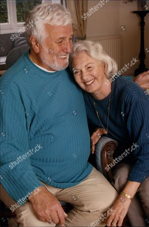 Michael Bentine (died 11/96) And Wife Clementina At Their Surrey Home.