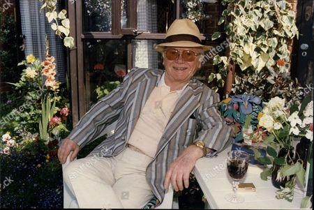 Charlie Drake (died 12/06) At His Crystal Palace Home.