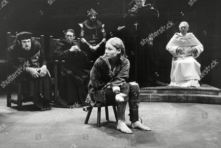 Theatrical Plays St Joan At The Mermaid Theatre Starring Angela Pleasence In The Title Role
