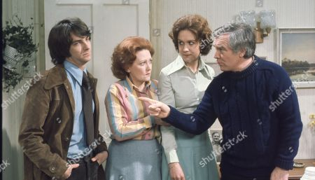 Brian Capron, as Jack Humphries; Carmel McSharry as Beryl Humphries; Barbara Mitchell as Vi Tonks; Mark Kingston as Tom Humphries
