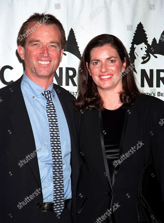 Robert Kennedy Jr and wife Mary Richardson Kennedy at The Forces Of Nature Gala, Pier 60, Chelsea, New York