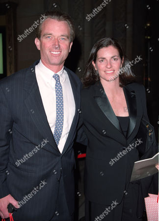 Robert F. Kennedy Jr and his wife Mary Richardson Kennedy  during a gala benefit to celebrate the Sundance Institute 20th Anniversary at Cipriani on 42nd St. in New York