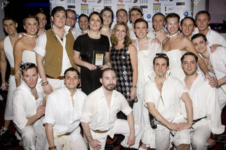 Editorial photo of Whatsonstage.com Theatregoers' Choice Awards, London, Britain - 14 Feb 2010