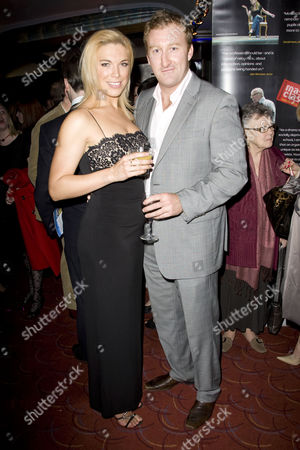 Stock Picture of Hannah Waddingham and Jamie Kenna