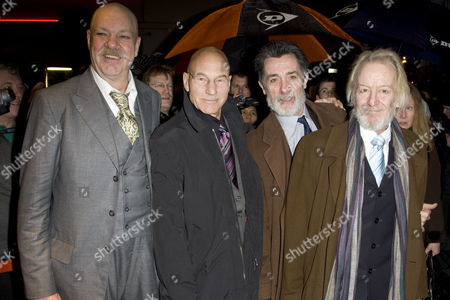 Matthew Kelly, Sir Patrick Stewart, Roger Rees and Ronald Pickup