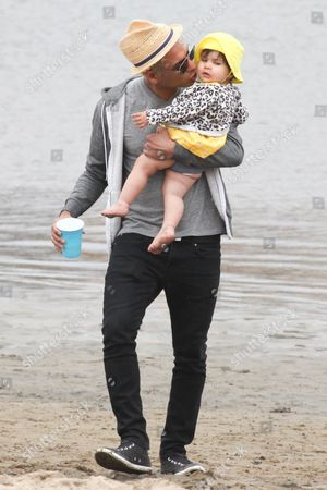 Tony Kanal and daughter Coco Reese Lakshmi
