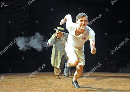'Chariots of Fire' - Nicholas Woodeson as Sam Mussabini, James McCardle as Harold Abrahams
