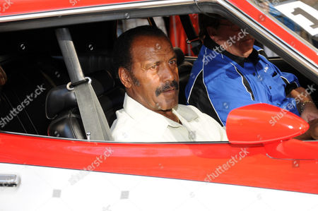 Stock Photo of Fred Williamson - NFL star and actor in The Hammer
