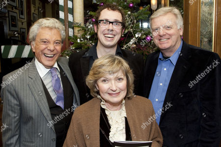 Lionel Blair, Bob Golding (Eric Morecambe), Hannah Gordon and Michael Grade
